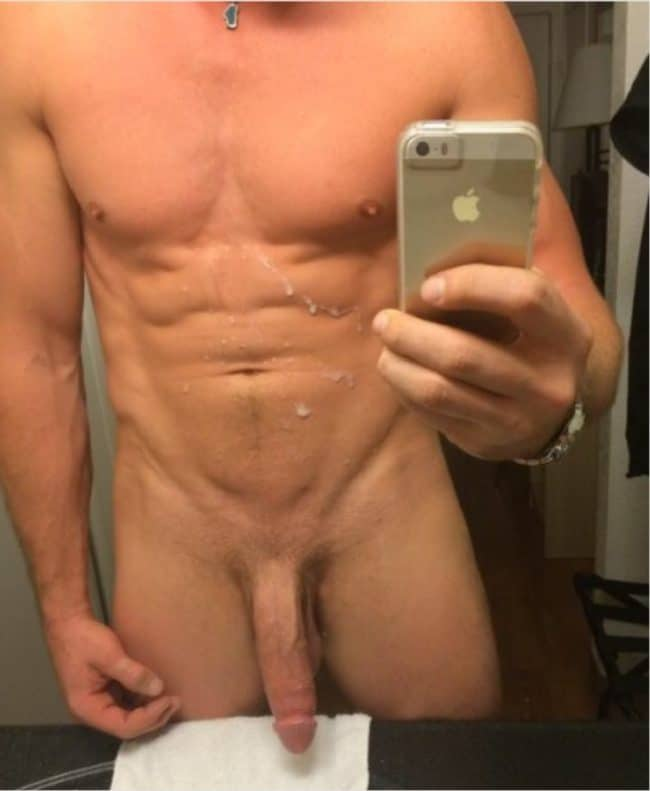 Hunk With Sperm